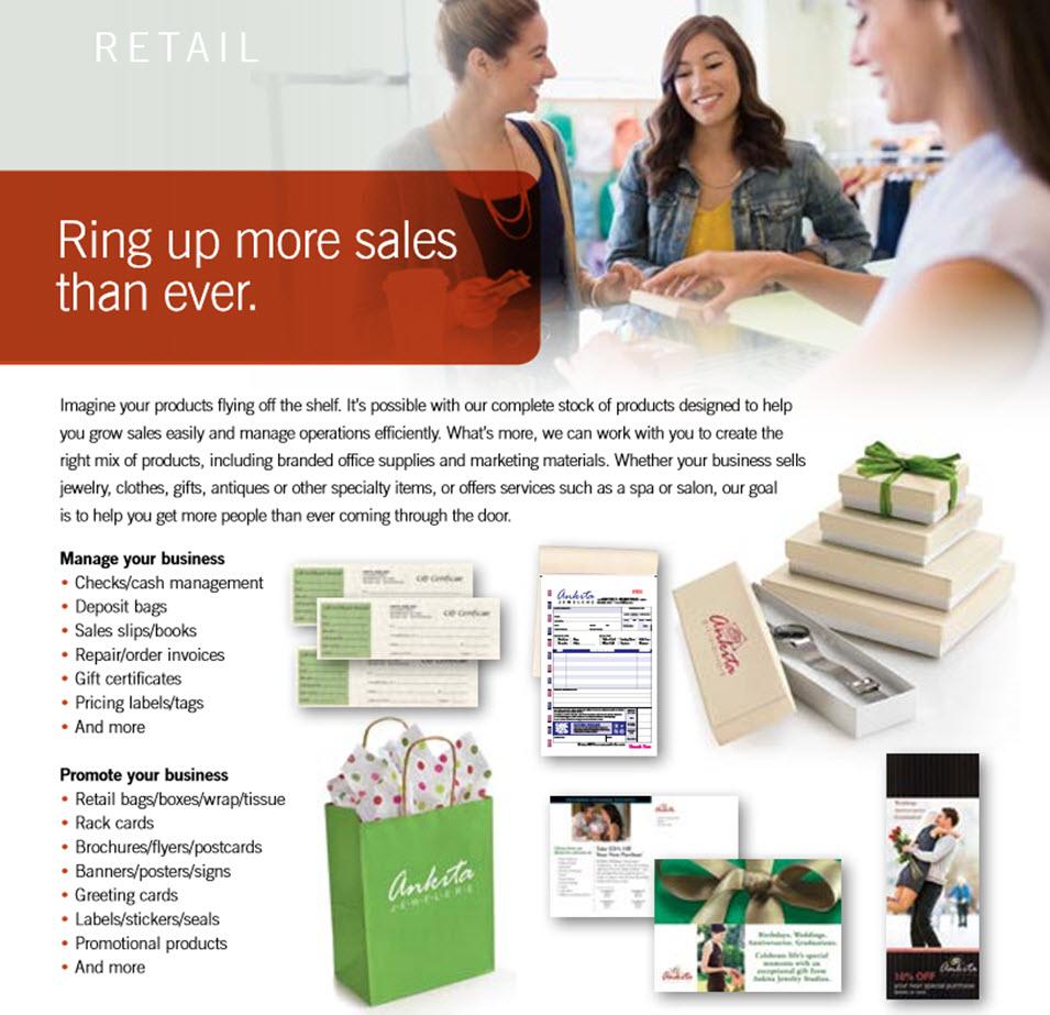 ring up more retail sales